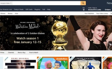 Amazon Lets Users Stream for Free in Light of Award Celebration