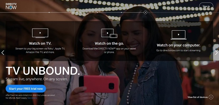 DIRECTV NOW Adds More Local Channels to Their Network