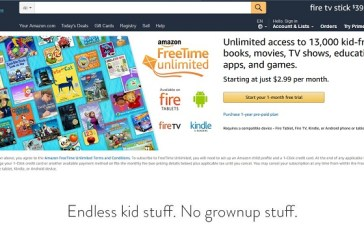 Amazon's Special Deal on Its FreeTime Family Plan