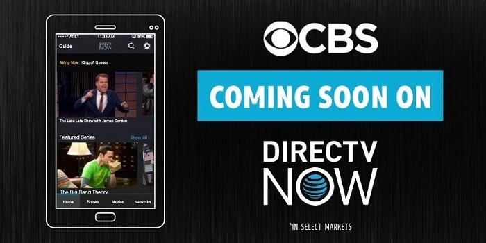 DIRECTV NOW Beta Finally Adds Selected CBS Channels