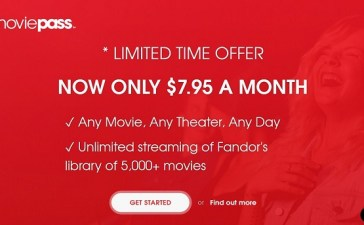MoviePass Price Lowers Down; Adds Streaming Service Fandor