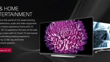 LG Home Entertainment Launches New TV Models for 2018