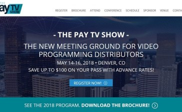 Pay TV Show to Take Place in Denver This May 2018