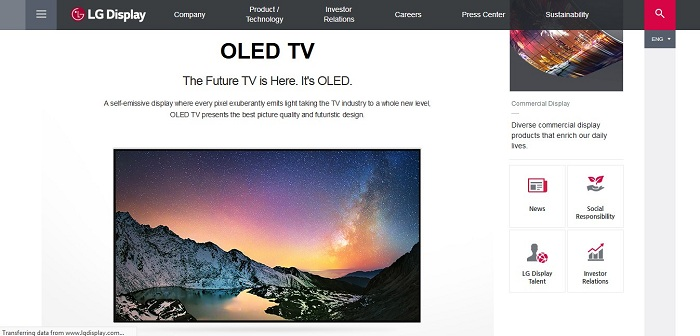 LG Display to Build OLED TV Manufacturing Plant in China