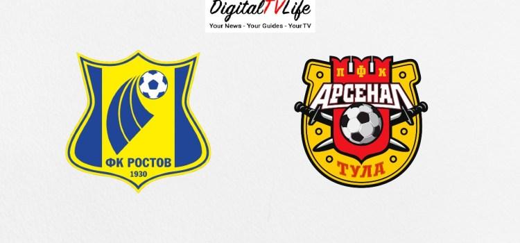 Rostov vs Arsenal Tula
