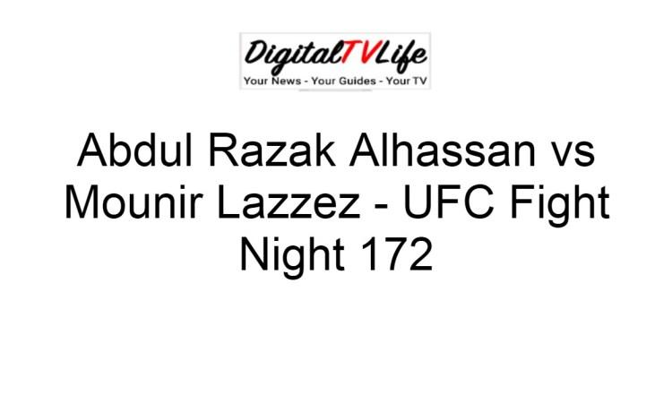 Abdul Razak Alhassan vs Mounir Lazzez
