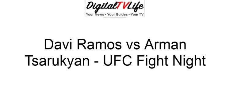 Davi Ramos vs Arman Tsarukyan