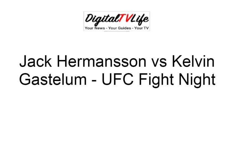 Jack Hermansson vs Kelvin Gastelum