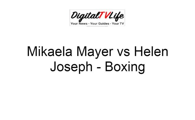 Mikaela Mayer vs Helen Joseph