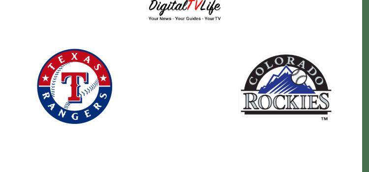 Texas Rangers vs Colorado Rockies