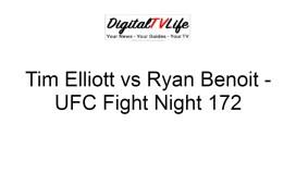 Tim Elliott vs Ryan Benoit