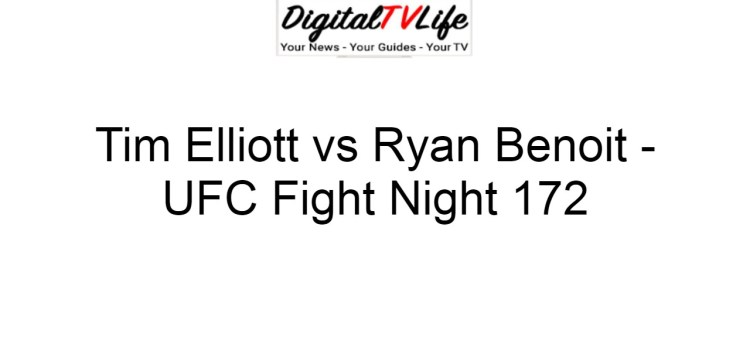 Tim Elliott vs Ryan Benoit