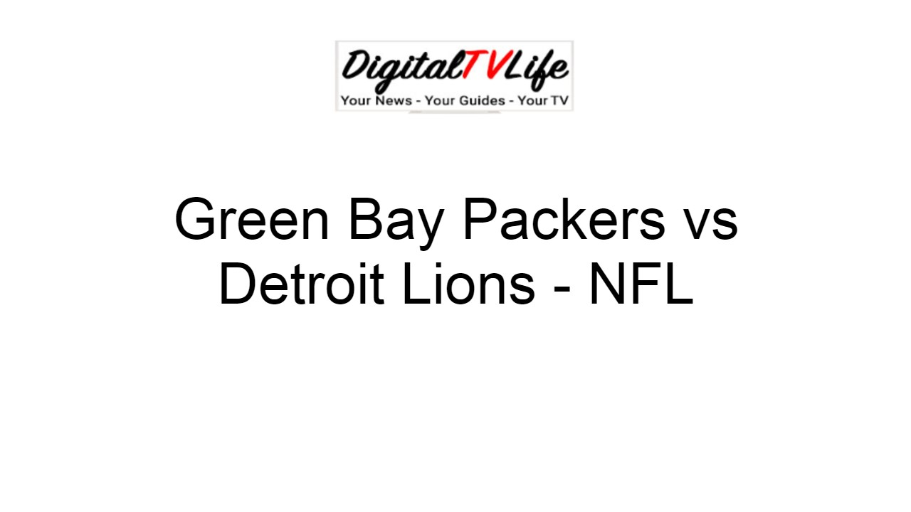 Green Bay Packers Football Live Streaming Game Online