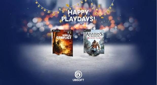 UbiSoft Celebrates The Holidays With Free Games