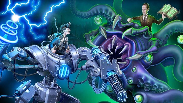 Tesla vs Lovecraft ss1