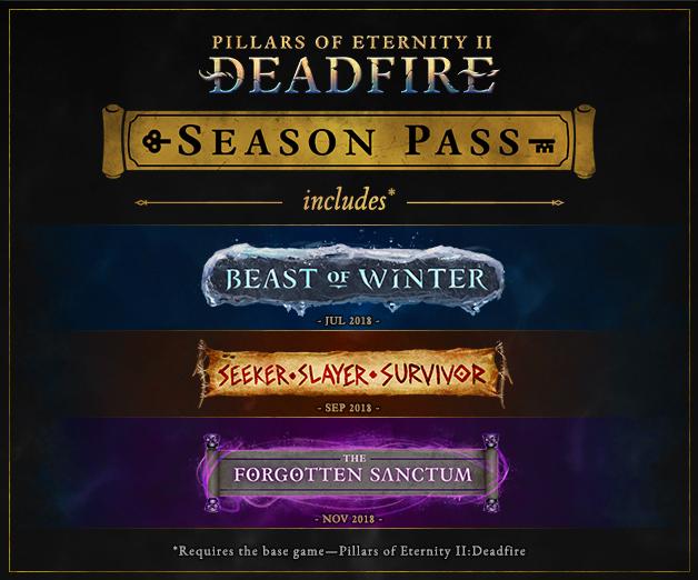 Pillars of Eternity II: Deadfire DLC ss1