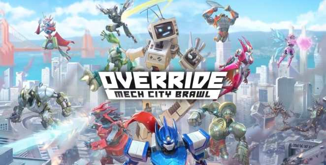 Override: Mech City Brawl Title