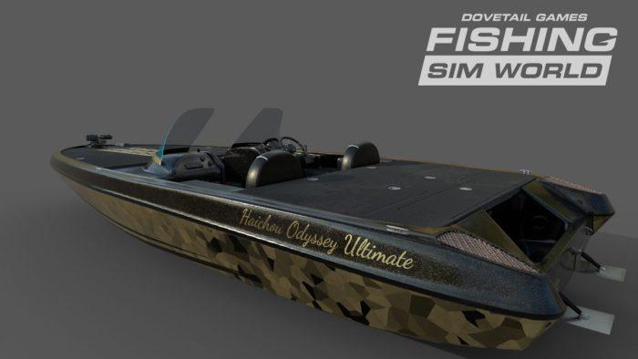 Fishing Sim World Pre-Order Deluxe Boat