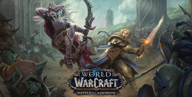 World of Warcraft - Battle For Azeroth Title