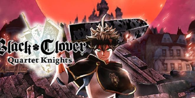 BLACK CLOVER: QUARTET KNIGHTS Title