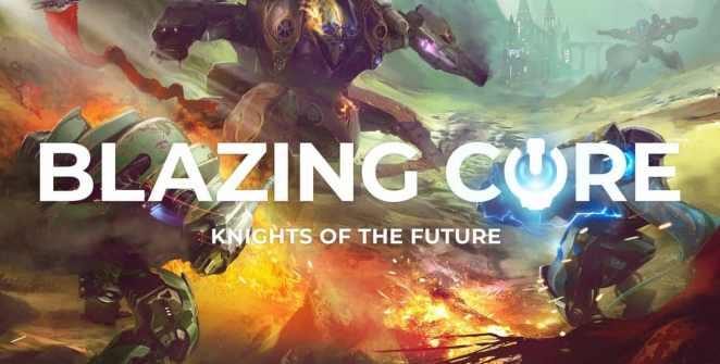 Blazing Core Open Beta Title