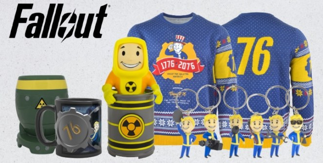 Official Fallout 76 Merchandise Title