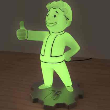 Official Fallout 76 Merchandise Lamp