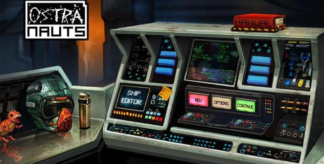Ostranauts Spaceship-Life Sim Title
