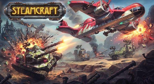 SteamCraft MMO Beta Title