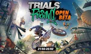 Trials Rising Open Beta Title