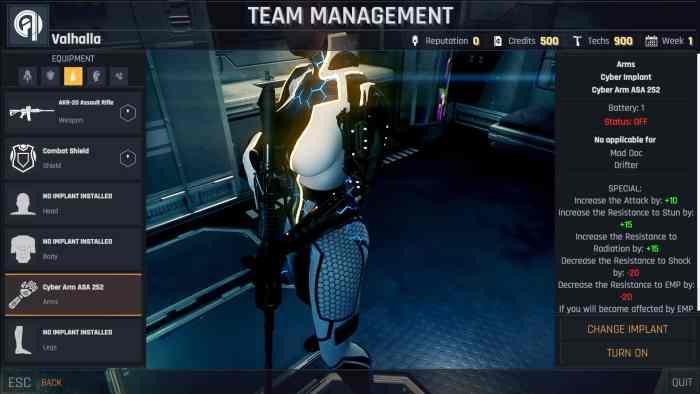 Conglomerate 451 Cyberpunk ss2