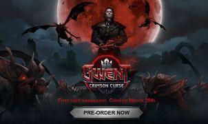 GWENT Crimson Curse Expansion Title