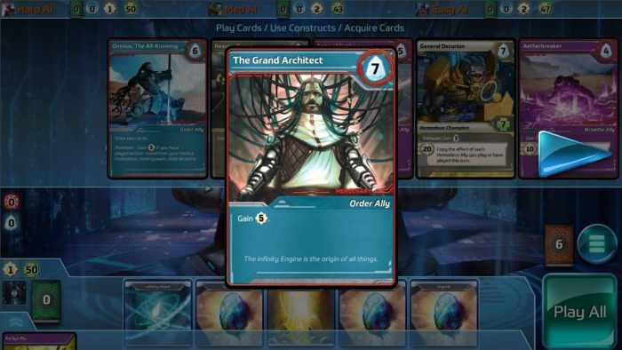 Shards of Infinity Strategy Card Game ss1