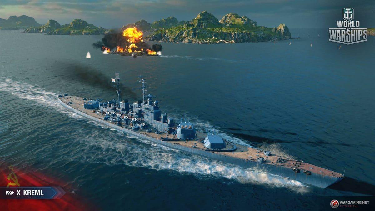 World of Warships Adds Soviet Battleships   Digitalunderground
