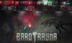 sci-fi submarine simulator Barotrauma title