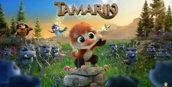 Tamarin 3D Action Adventure Title