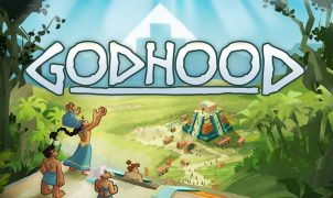 Godhood Strategy God Game Title