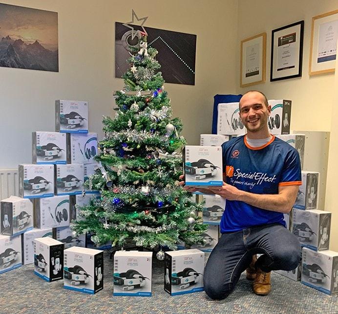 Sennheiser Season of Giving Christmas Tree