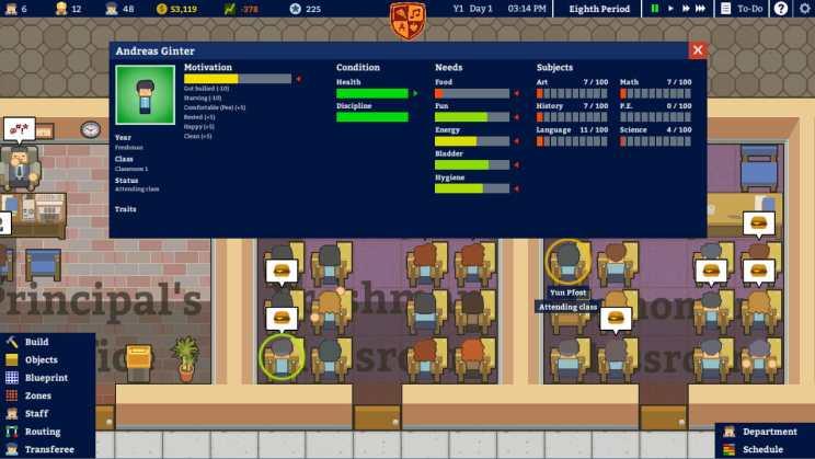Academia School Simulator Sale ss2