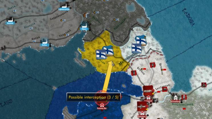 Winter War Strategy Game ss2