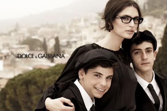 Nouvelle campagne de Dolce Gabbana avec Bianca Balti