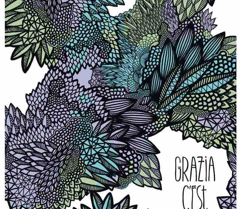 Grazia se veut arty pour la Fashion Week