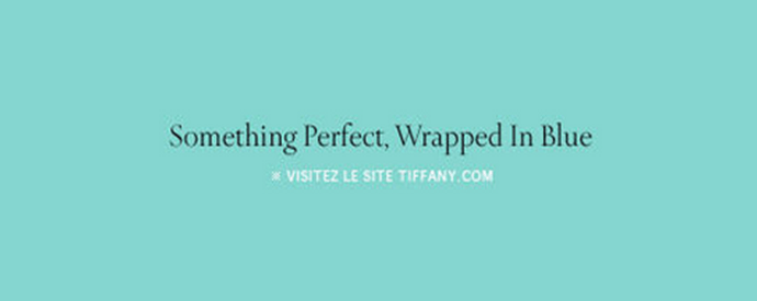 Nouvelle campagne Tiffany & Co