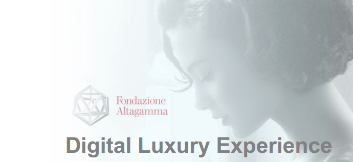 Importance du digital et produits de luxe