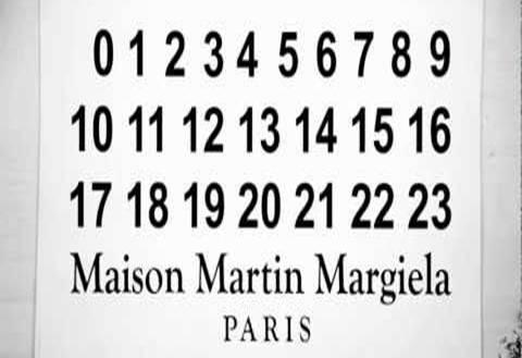 Voeux 2013 signés Martin Margiela