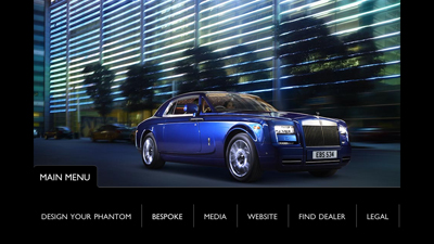 Nouvelle application mobile Rolls-Royce
