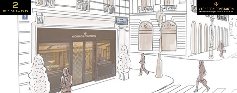 Vacheron Constantin s'installe à Paris