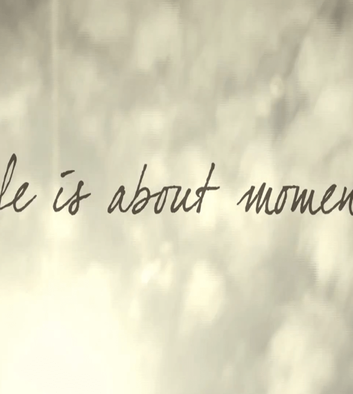 Nouveau film signé Baume & Mercier – Life is About Moments