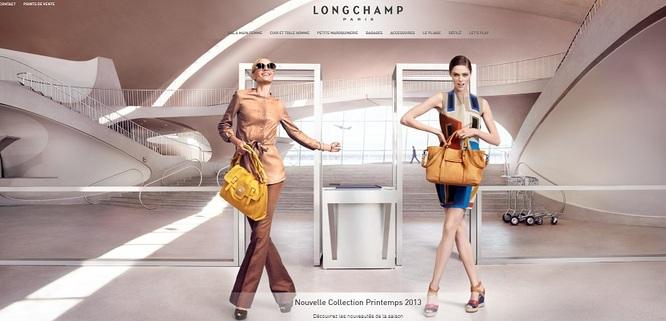 Nouveau site Longchamp.com
