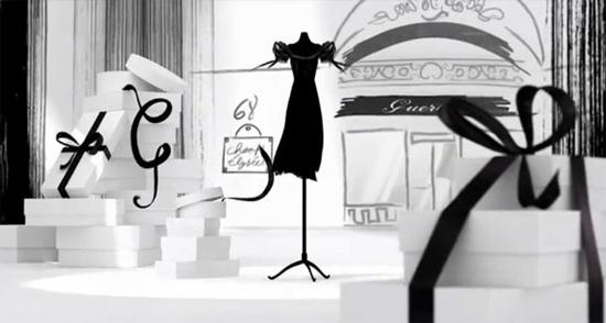 Nouvelle campagne Guerlain – La Petite Robe Noire sur Shazam